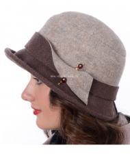Шляпа Д-554 Какао-шоколад