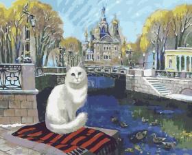 Картина по номерам 40Х50см Санкт-Петербург.