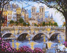 Картина по номерам - Париж