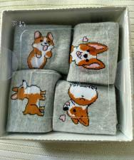 Женские носки с рисунком.