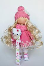 Набор для шитья куклы -Злата Рост готовой куклы 27 см.