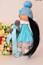 Набор для шитья куклы -Ксюша . Рост готовой куклы 27 см
