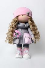 Набор для шитья куклы- Молли.. Рост готовой куклы 35 см.