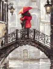 "Картина по номерам "" Поцелуй на мосту"" худ.Ричард Макнейл"