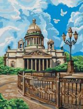 Картина по номерам 40Х50см Санкт-Петербург