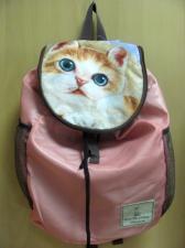 Рюкзак с котом складной.
