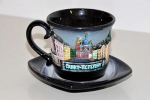 Чайная пара С-Петербург-керамика